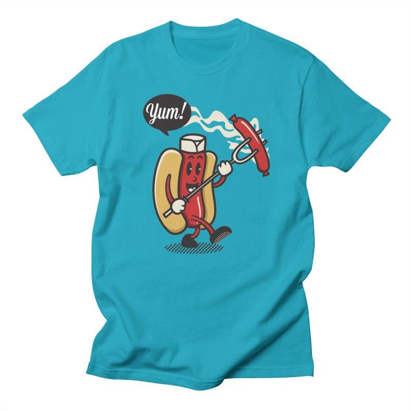 Hot Sausage! Women's Regular Unisex T-Shirt by ALGS's Artist Shop