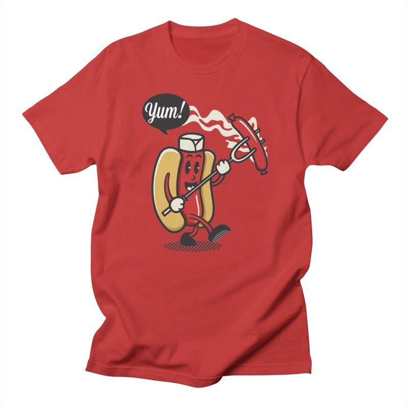 Hot Sausage! Men's T-Shirt by ALGS's Artist Shop