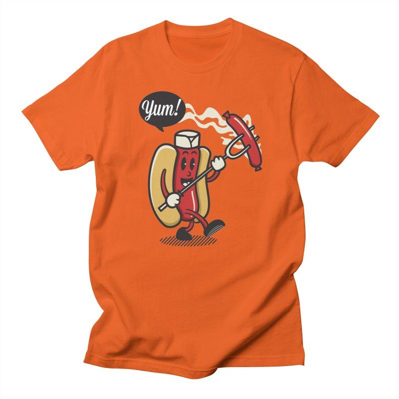 Hot Sausage! Women's Unisex T-Shirt by ALGS's Artist Shop