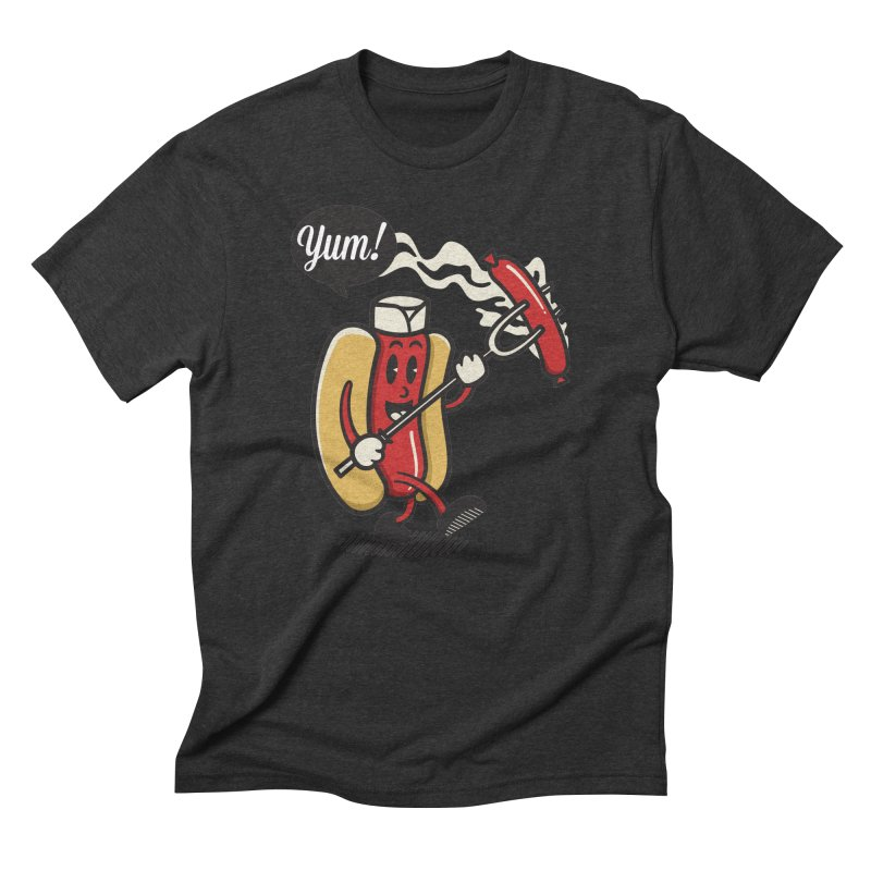 Hot Sausage! Men's Triblend T-Shirt by ALGS's Artist Shop