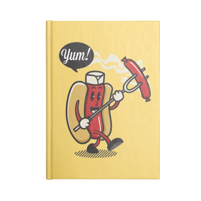 Hot Sausage! Accessories Blank Journal Notebook by ALGS's Artist Shop