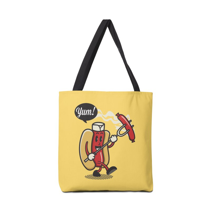 Hot Sausage! Accessories Tote Bag Bag by ALGS's Artist Shop