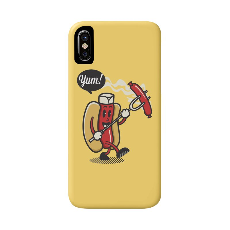 Hot Sausage! Accessories Phone Case by ALGS's Artist Shop