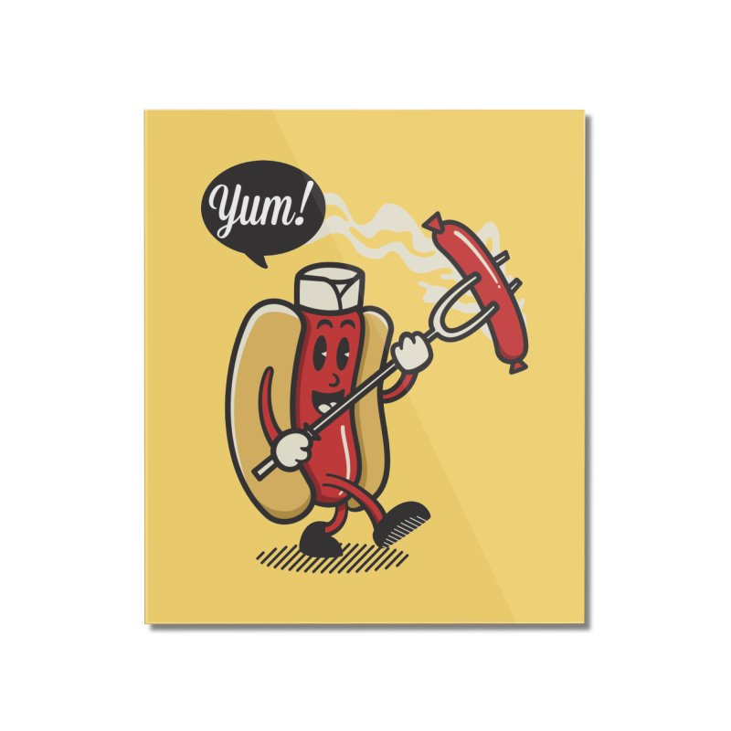 Hot Sausage! Home Mounted Acrylic Print by ALGS's Artist Shop
