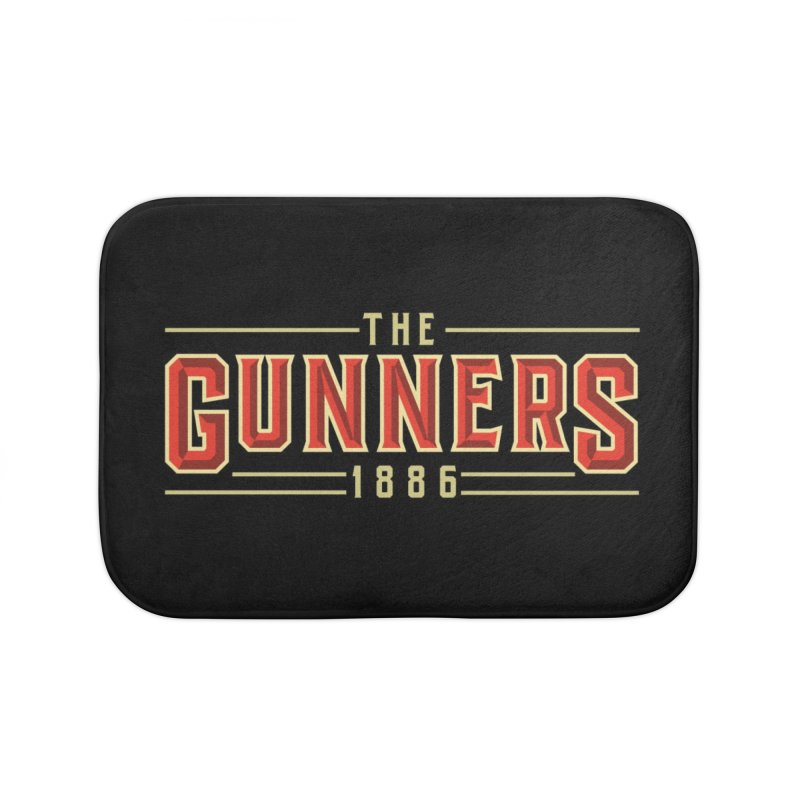 THE GUNNERS Home Bath Mat by ALGS's Artist Shop