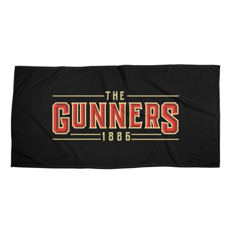 THE GUNNERS Accessories Beach Towel by ALGS's Artist Shop