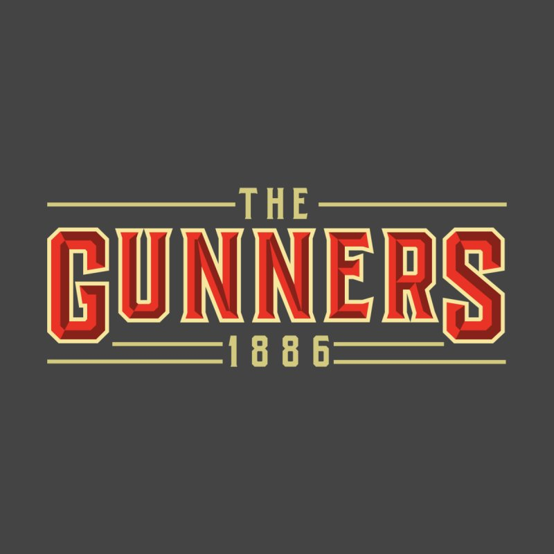 THE GUNNERS Home Mounted Aluminum Print by ALGS's Artist Shop