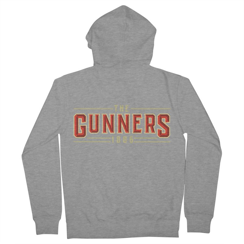 THE GUNNERS Women's French Terry Zip-Up Hoody by ALGS's Artist Shop