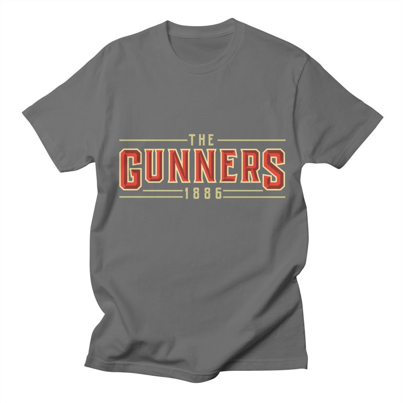 THE GUNNERS Men's T-Shirt by ALGS's Artist Shop