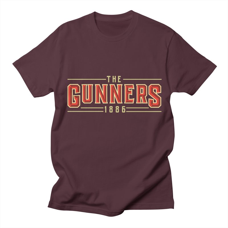 THE GUNNERS Women's Regular Unisex T-Shirt by ALGS's Artist Shop