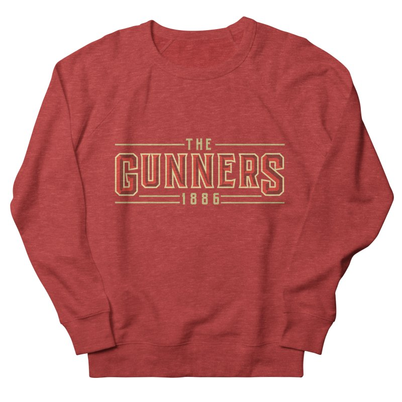 THE GUNNERS Women's French Terry Sweatshirt by ALGS's Artist Shop