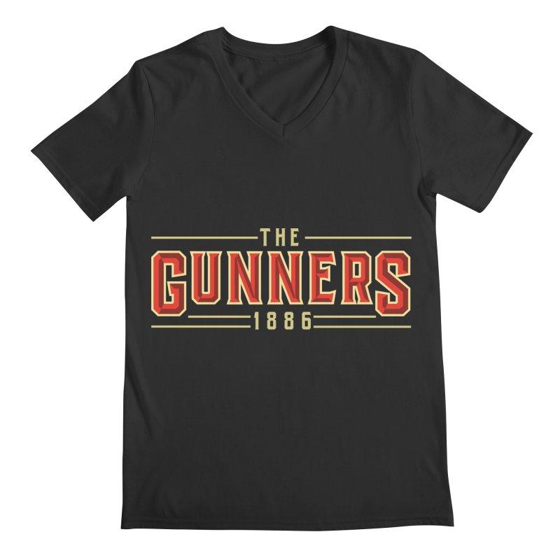 THE GUNNERS Men's Regular V-Neck by ALGS's Artist Shop