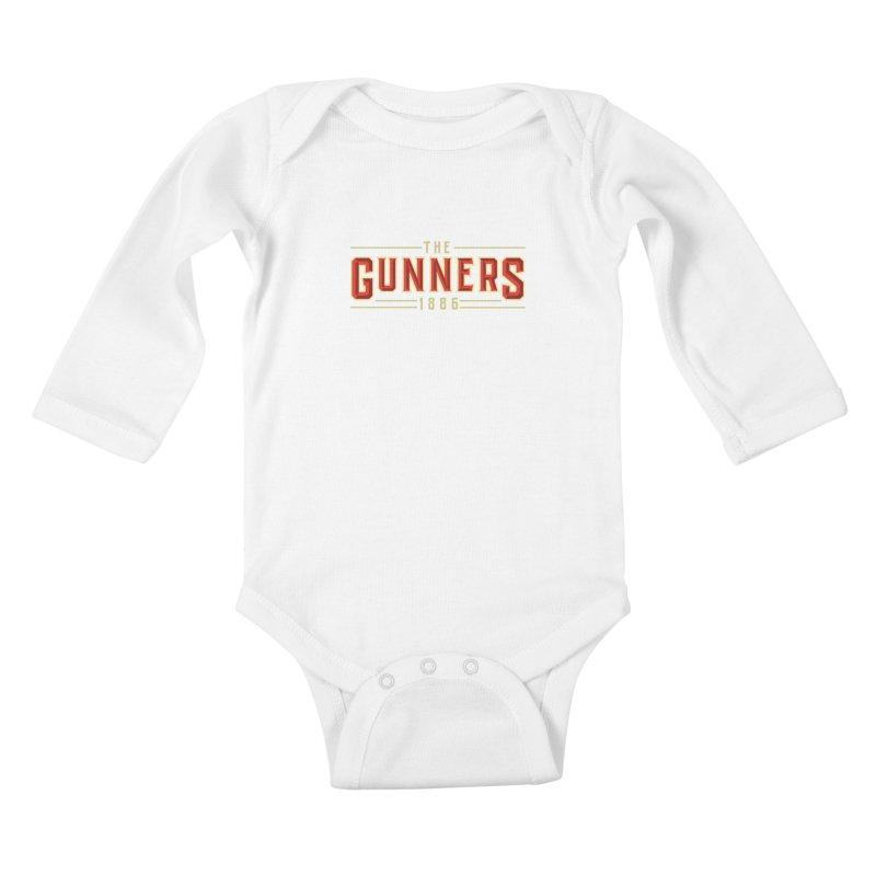 THE GUNNERS Kids Baby Longsleeve Bodysuit by ALGS's Artist Shop