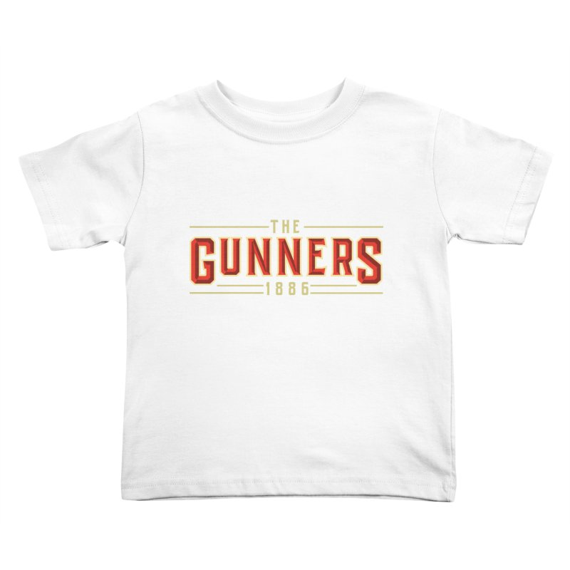 THE GUNNERS Kids Toddler T-Shirt by ALGS's Artist Shop
