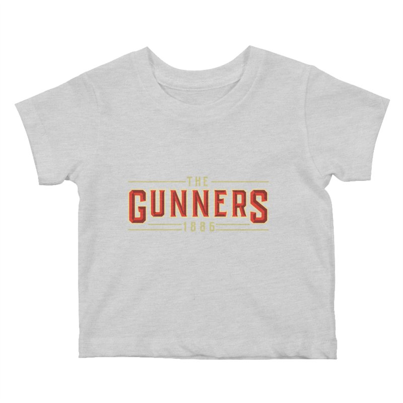 THE GUNNERS Kids Baby T-Shirt by ALGS's Artist Shop