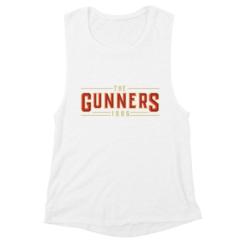 THE GUNNERS Women's Muscle Tank by ALGS's Artist Shop