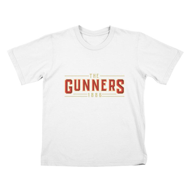 THE GUNNERS Kids T-Shirt by ALGS's Artist Shop