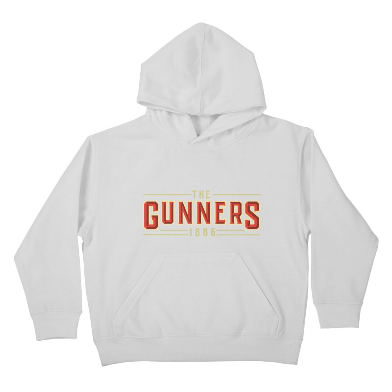 THE GUNNERS Kids Pullover Hoody by ALGS's Artist Shop