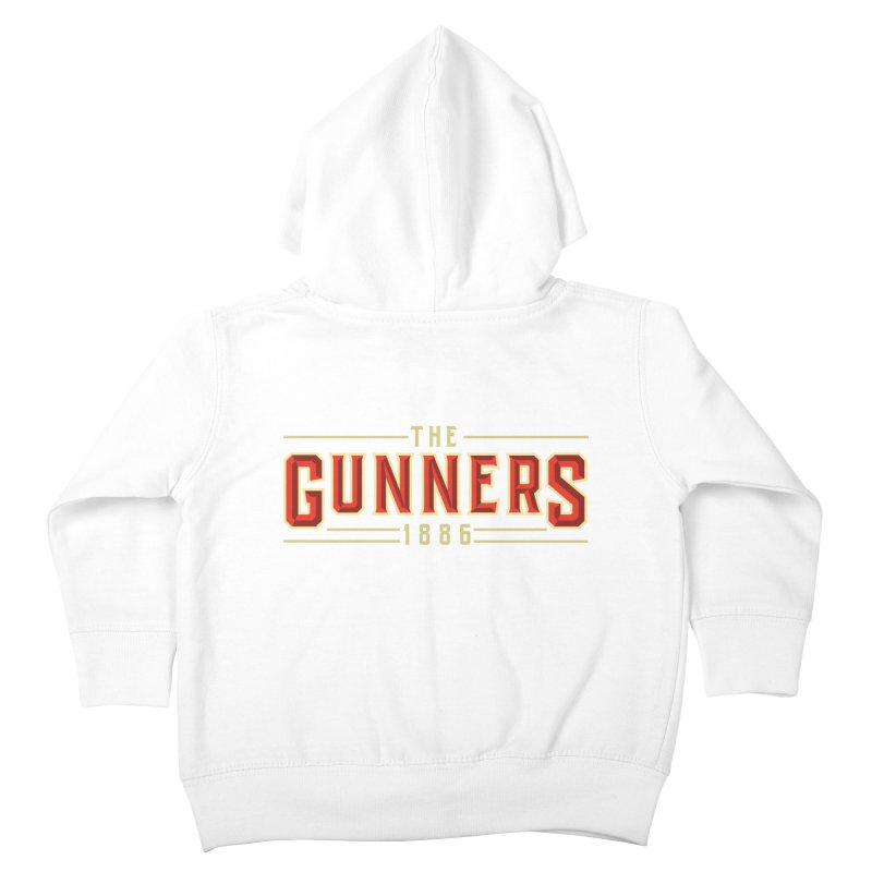 THE GUNNERS Kids Toddler Zip-Up Hoody by ALGS's Artist Shop