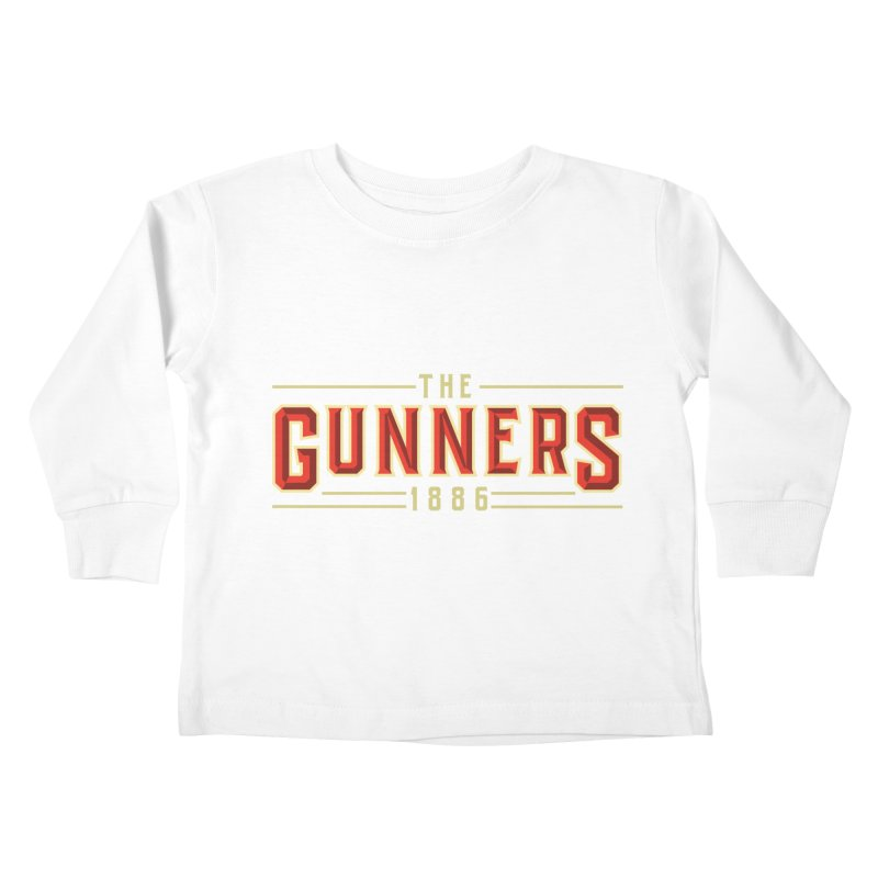 THE GUNNERS Kids Toddler Longsleeve T-Shirt by ALGS's Artist Shop
