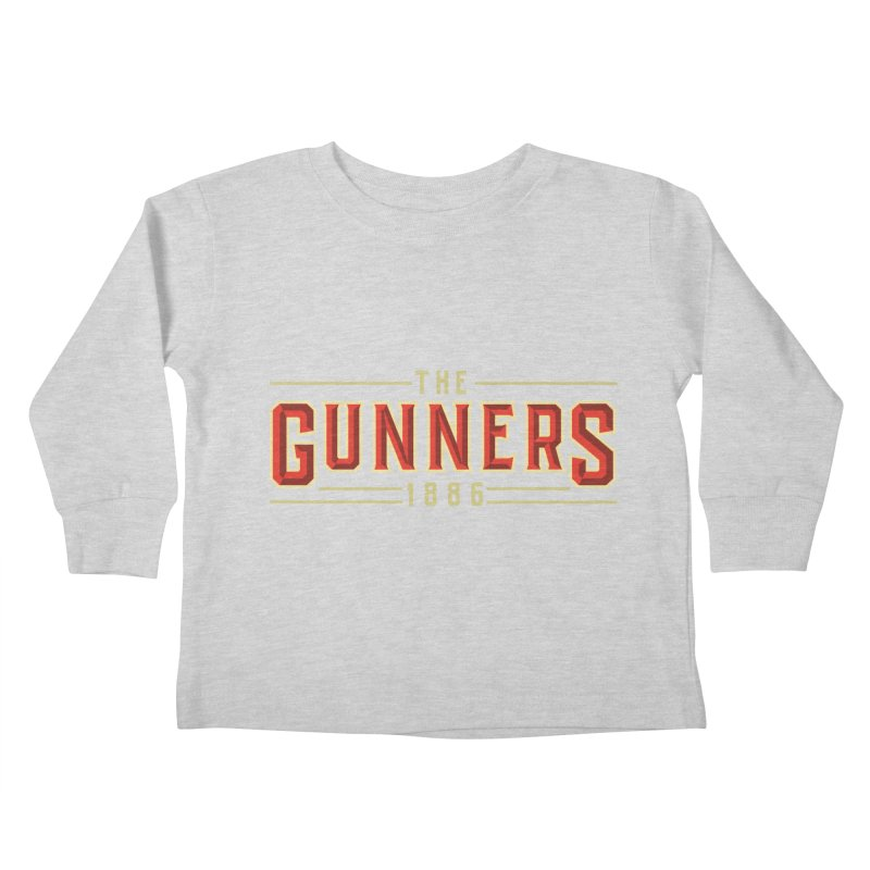 THE GUNNERS Kids Toddler Longsleeve T-Shirt by ALGS's Artist Shop