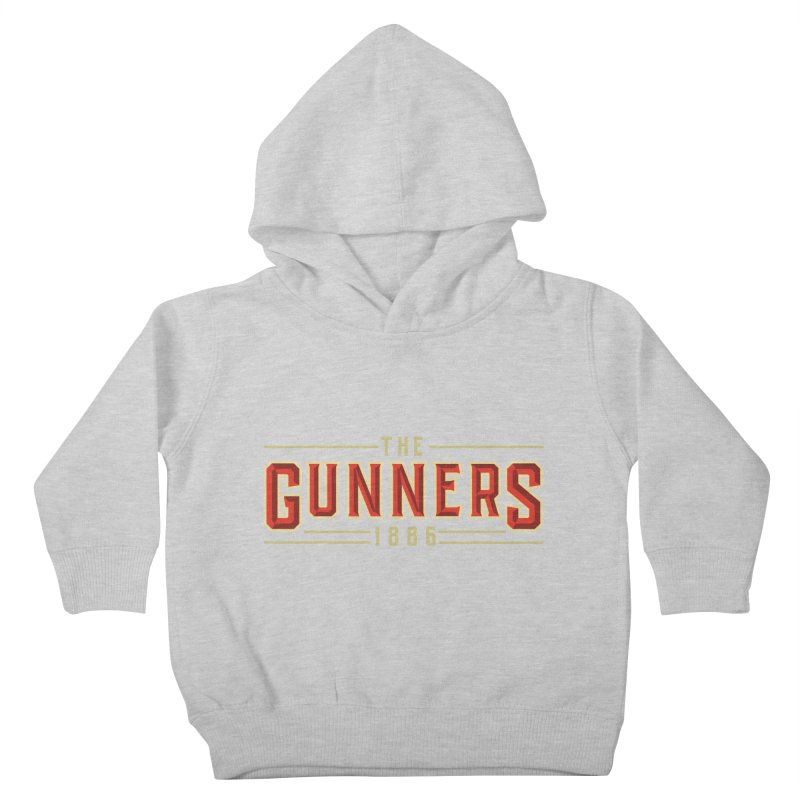 THE GUNNERS Kids Toddler Pullover Hoody by ALGS's Artist Shop