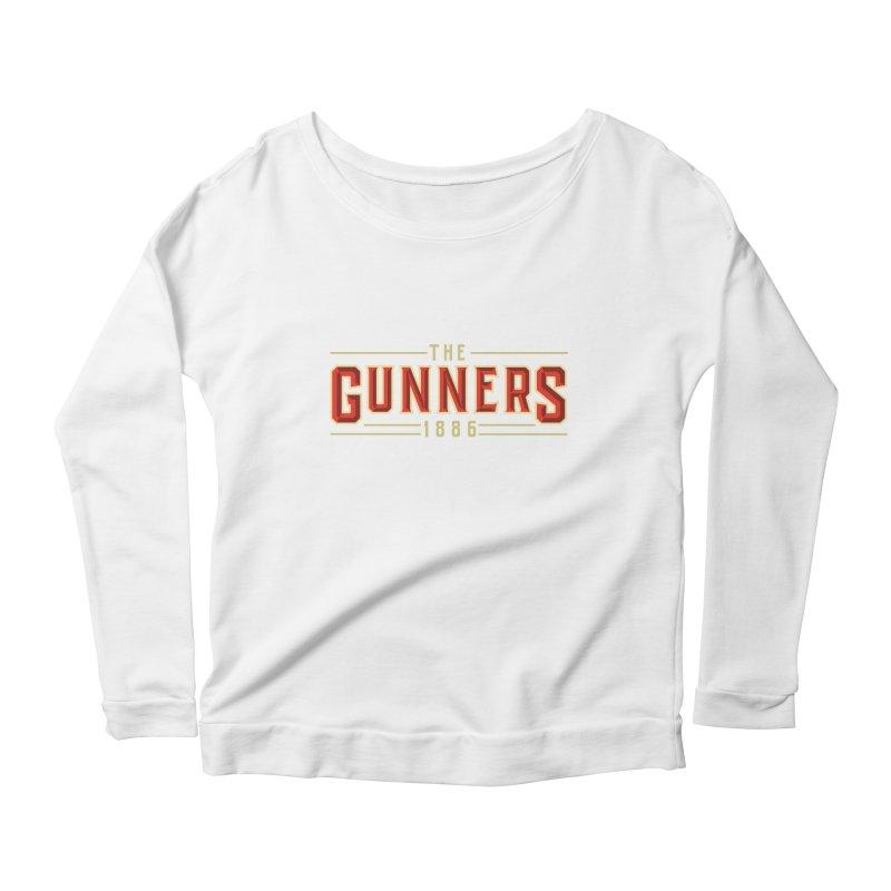 THE GUNNERS Women's Scoop Neck Longsleeve T-Shirt by ALGS's Artist Shop