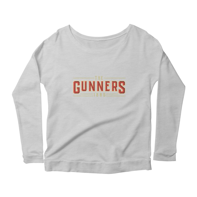THE GUNNERS Women's Scoop Neck Longsleeve T-Shirt by ALGS's Artist Shop