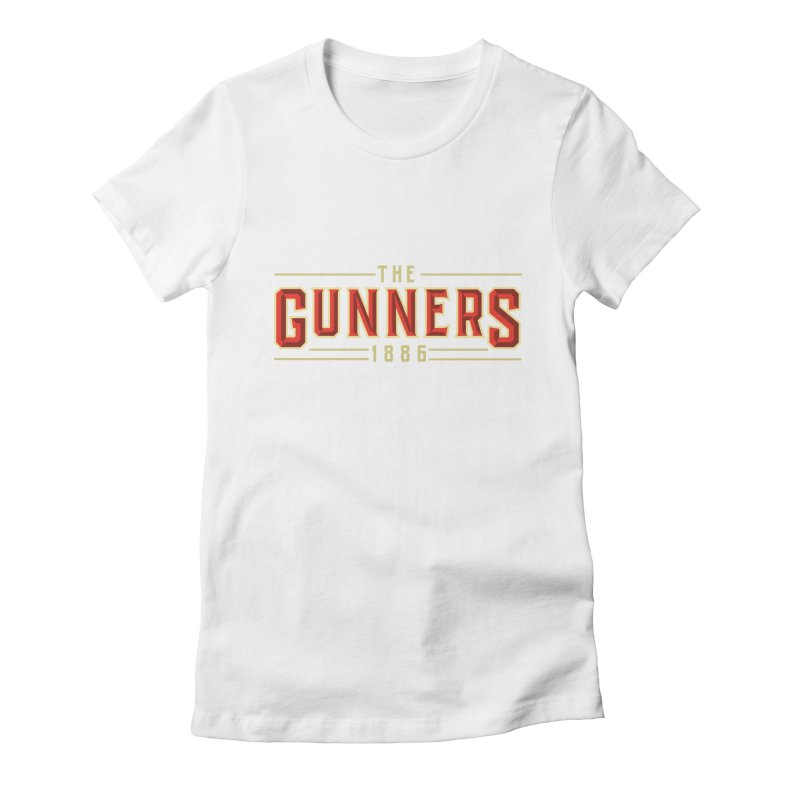 THE GUNNERS Women's Fitted T-Shirt by ALGS's Artist Shop