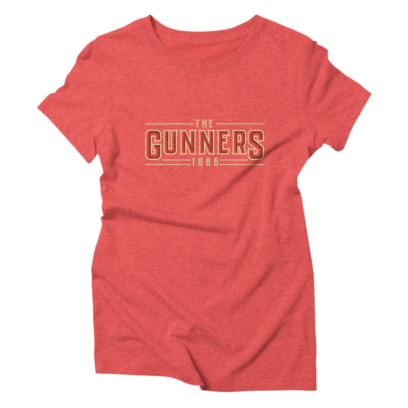 THE GUNNERS Women's Triblend T-Shirt by ALGS's Artist Shop