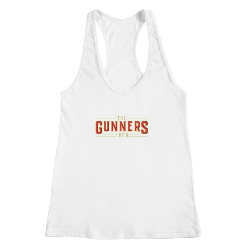 THE GUNNERS Women's Racerback Tank by ALGS's Artist Shop