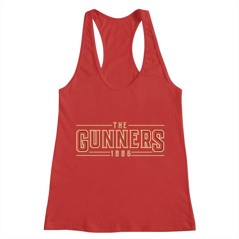 THE GUNNERS Women's Racerback Tank by ALGS's Artist Shop