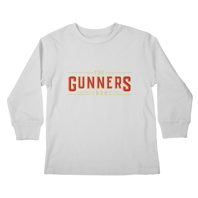 THE GUNNERS Kids Longsleeve T-Shirt by ALGS's Artist Shop