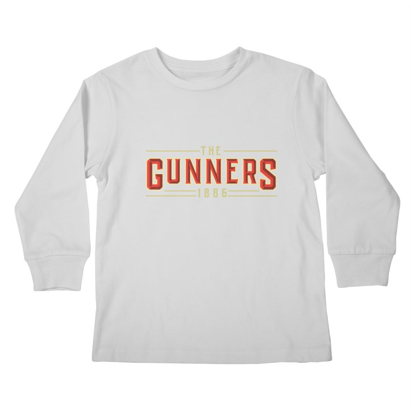 THE GUNNERS Kids Longsleeve T-Shirt by ALGS's Artist Shop