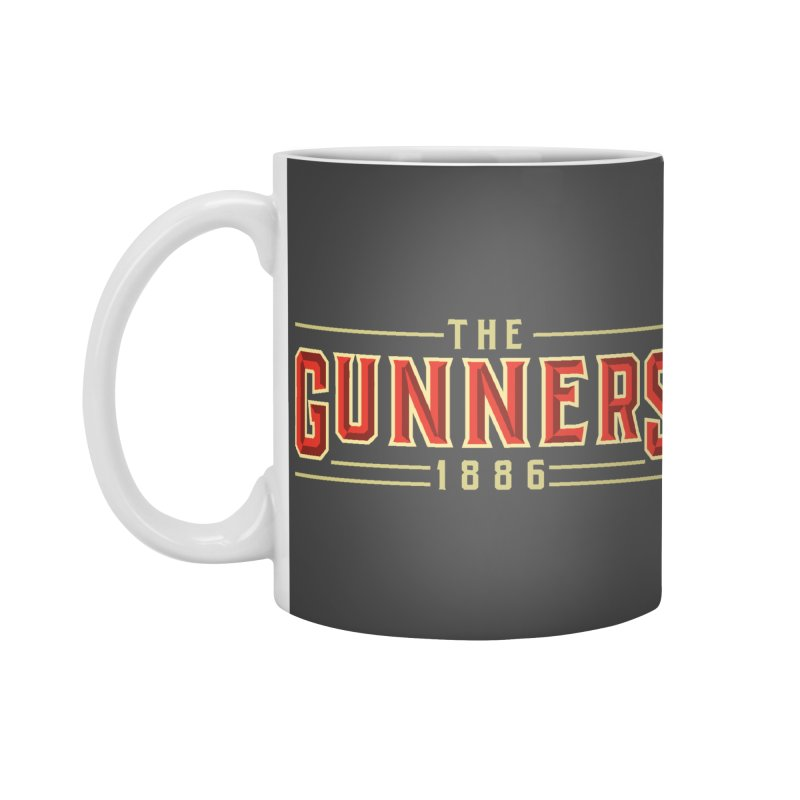 THE GUNNERS Accessories Standard Mug by ALGS's Artist Shop