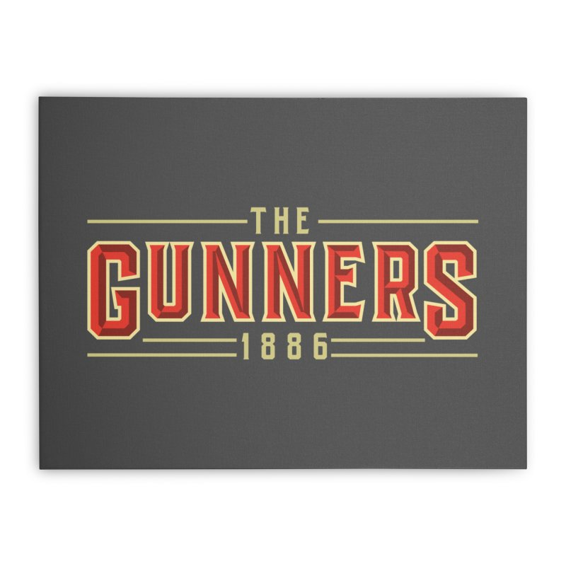 THE GUNNERS Home Stretched Canvas by ALGS's Artist Shop