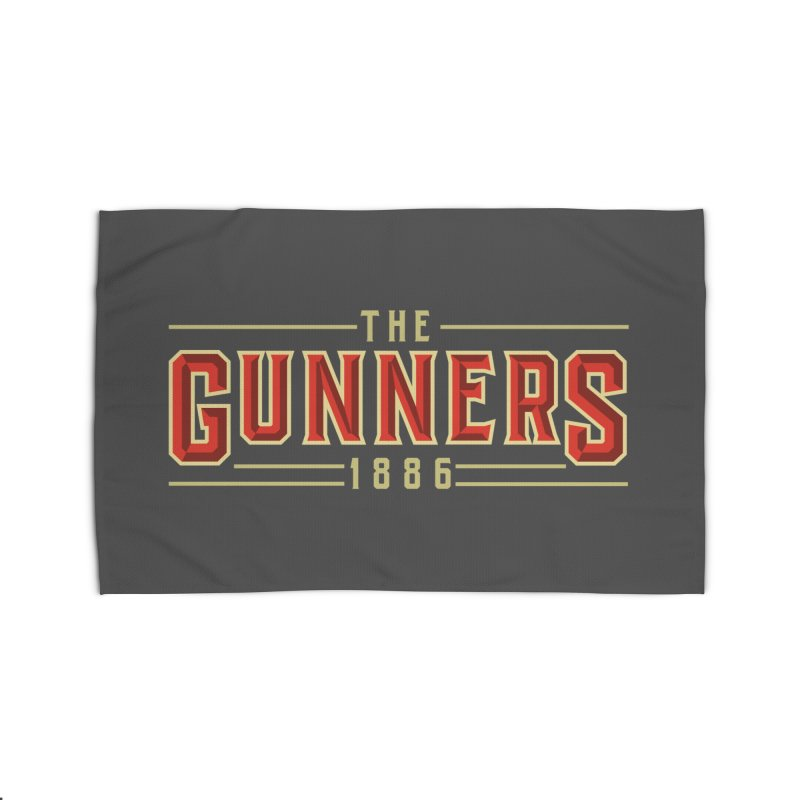 THE GUNNERS Home Rug by ALGS's Artist Shop