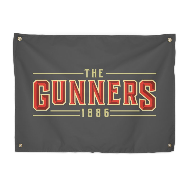THE GUNNERS Home Tapestry by ALGS's Artist Shop