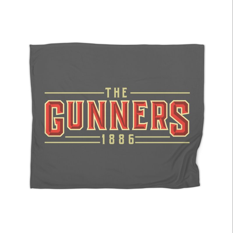 THE GUNNERS Home Blanket by ALGS's Artist Shop