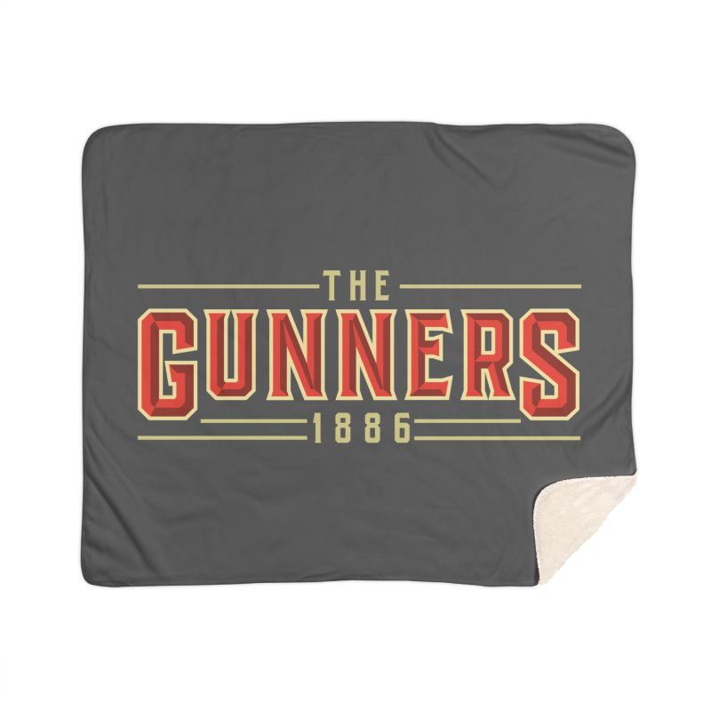 THE GUNNERS Home Sherpa Blanket Blanket by ALGS's Artist Shop