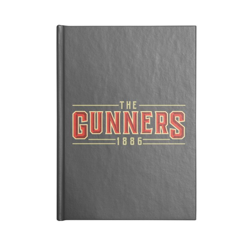 THE GUNNERS Accessories Blank Journal Notebook by ALGS's Artist Shop