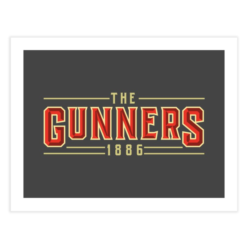 THE GUNNERS Home Fine Art Print by ALGS's Artist Shop