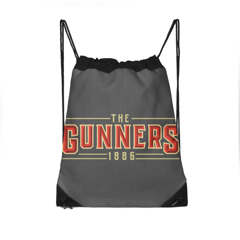 THE GUNNERS Accessories Drawstring Bag Bag by ALGS's Artist Shop