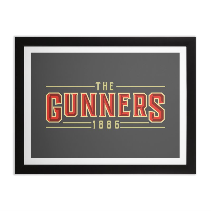 THE GUNNERS Home Framed Fine Art Print by ALGS's Artist Shop