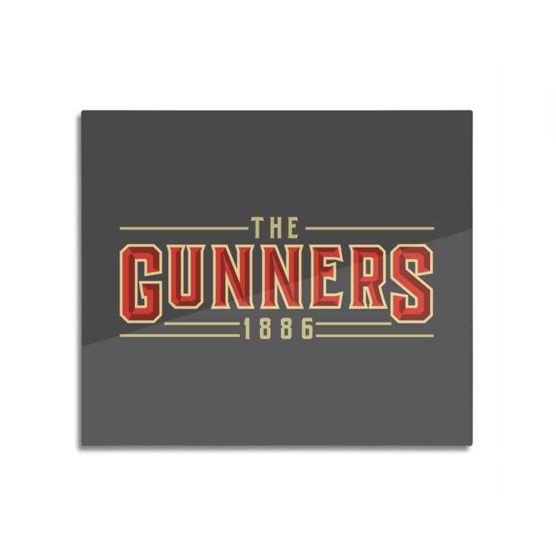THE GUNNERS Home Mounted Acrylic Print by ALGS's Artist Shop