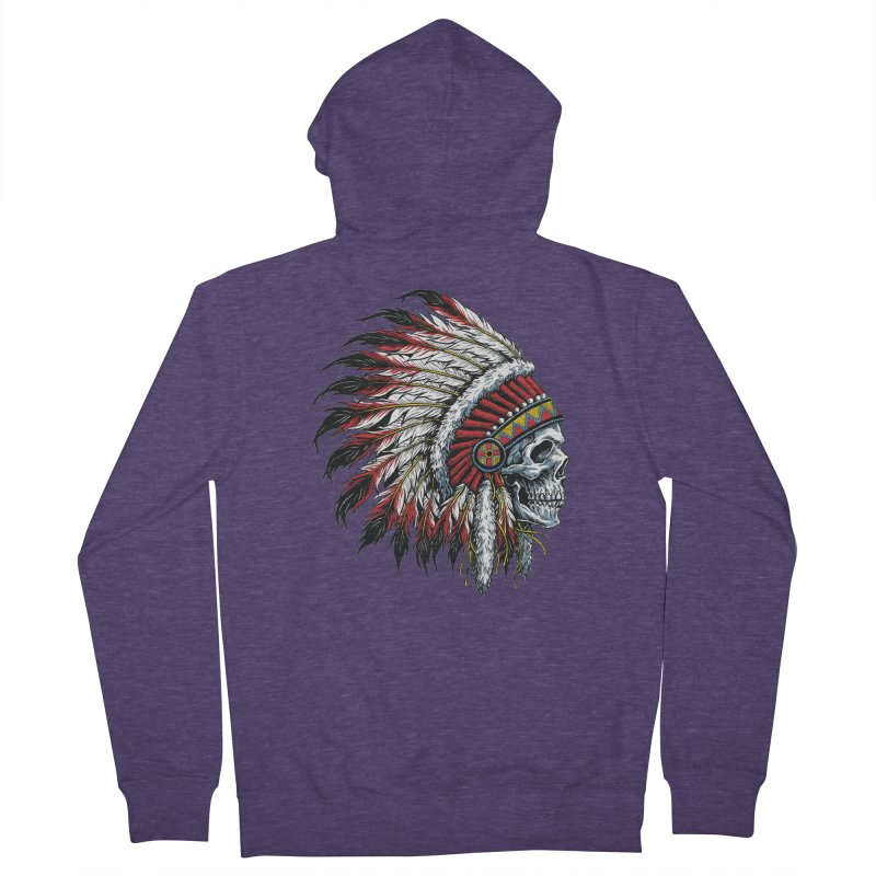 Native Instruments Men's French Terry Zip-Up Hoody by ALGS's Artist Shop
