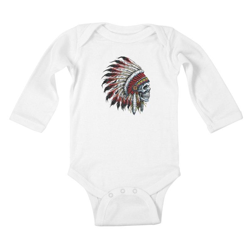 Native Instruments Kids Baby Longsleeve Bodysuit by ALGS's Artist Shop