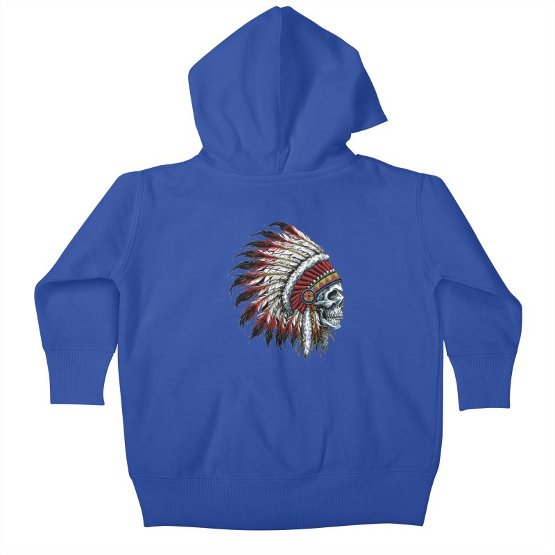 Native Instruments Kids Baby Zip-Up Hoody by ALGS's Artist Shop