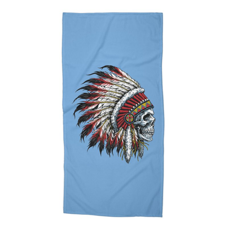 Native Instruments Accessories Beach Towel by ALGS's Artist Shop