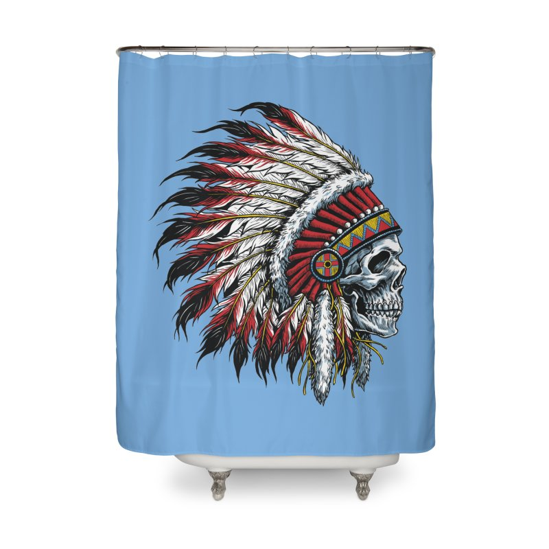 Native Instruments Home Shower Curtain by ALGS's Artist Shop